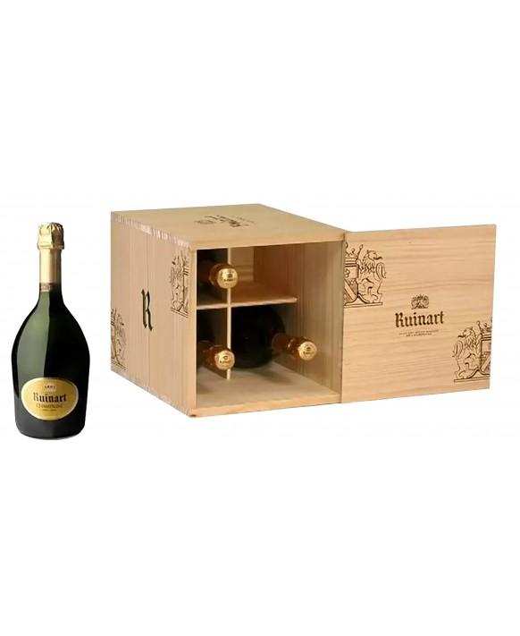 Champagne Ruinart 4 r de Ruinart Brut wooden box