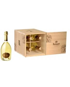 Champagne Ruinart 4 r de Ruinart Blanc de Blancs wooden box