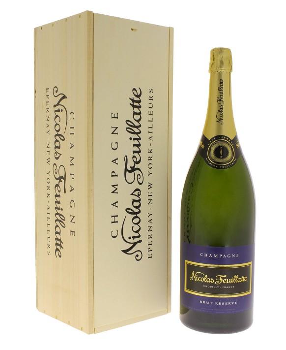 Champagne Nicolas Feuillatte Brut Réserve Salmanazar