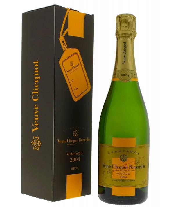 Champagne Veuve Clicquot Vintage 2004 coffret 75cl
