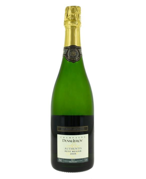 Champagne Duval - Leroy Petit Meslier 2005 75cl