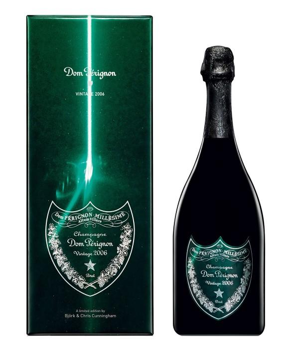 Champagne Dom Perignon Vintage 2006 coffret Edition Limitée Bjork