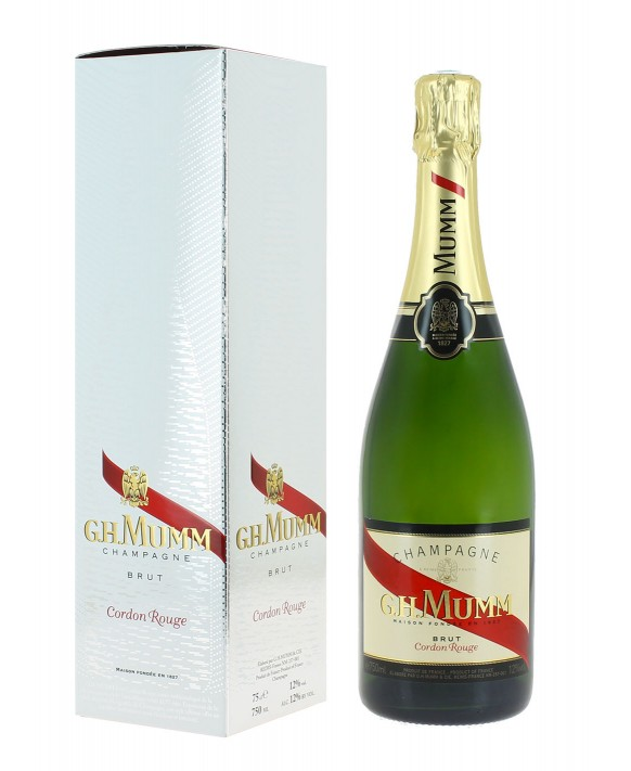 Champagne Mumm Cordon Rouge in gift box 75cl