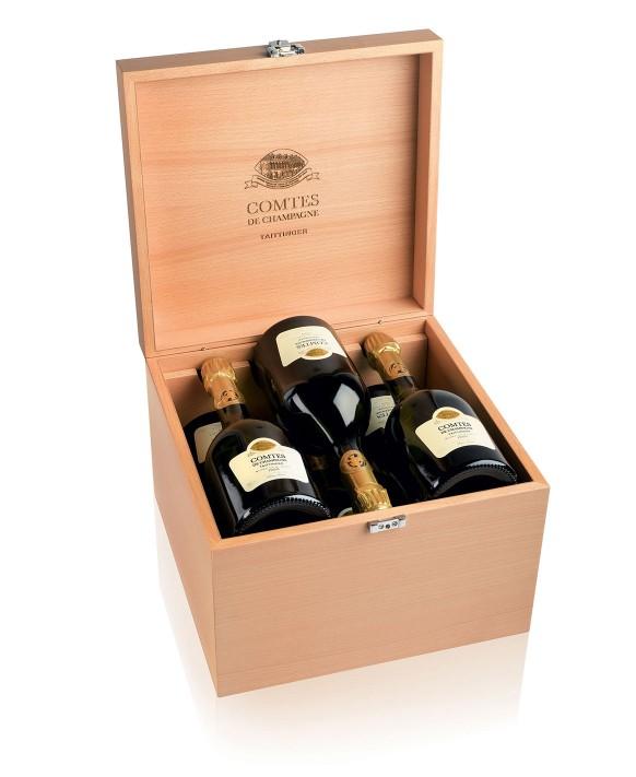 Champagne Taittinger Comtes de Champagne Blanc de Blancs 2007 caisse de 6