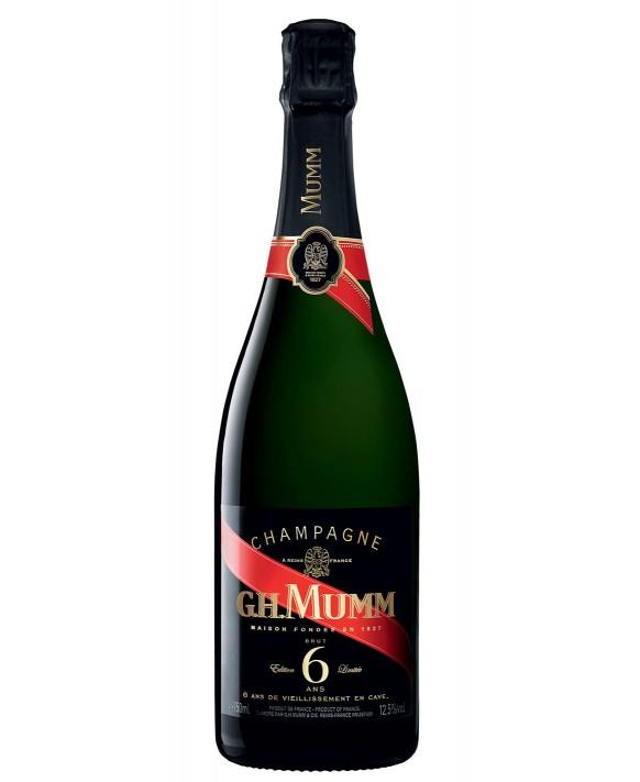 Champagne Mumm Edition Limitée 6 ans 75cl