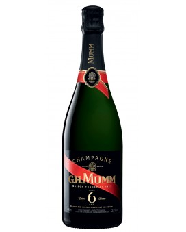 Champagne Mumm Edition Limitée 6 ans