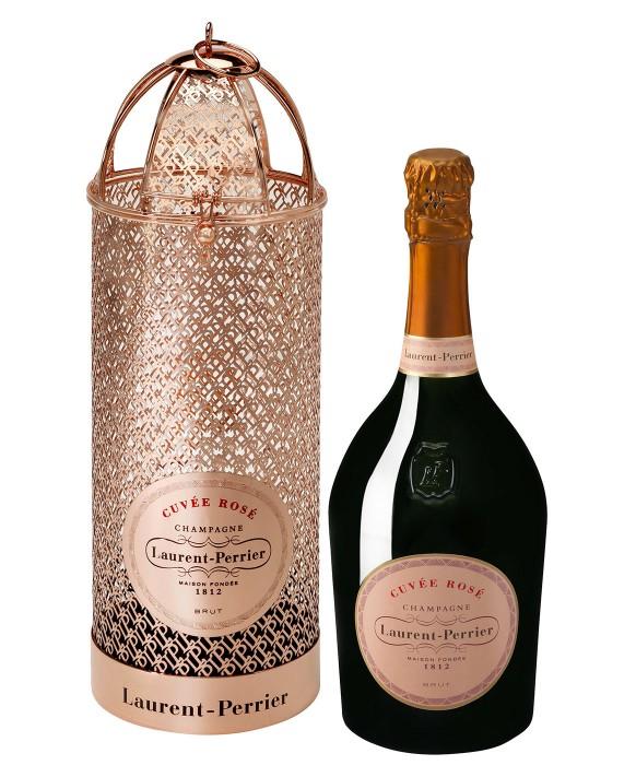Champagne Laurent-perrier Cuvée Rosé glittering gift box