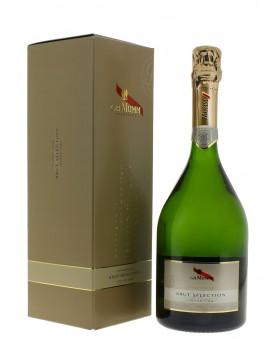 Champagne Mumm Brut Sélection casket