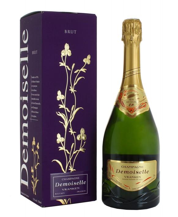 Champagne Demoiselle Brut EO Tête de Cuvée étui
