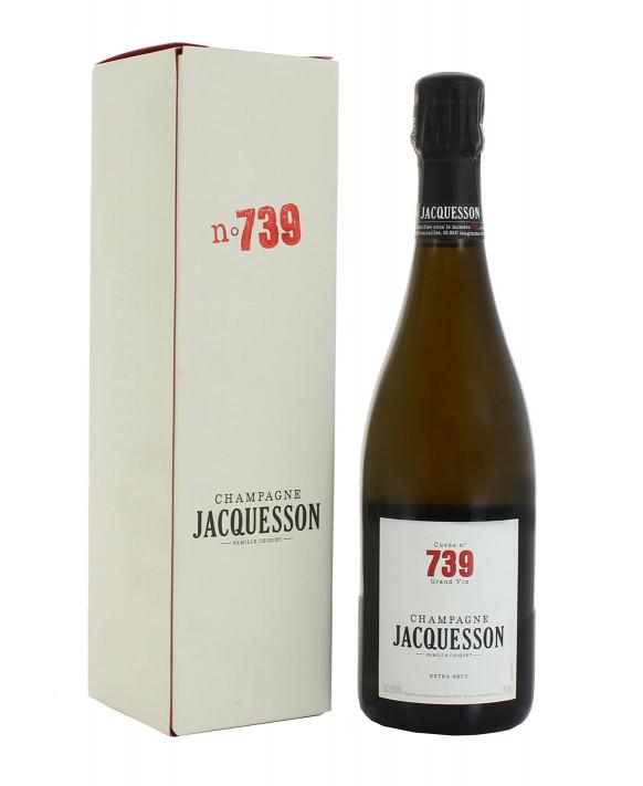 Champagne Jacquesson Cuvée 739 gift casket