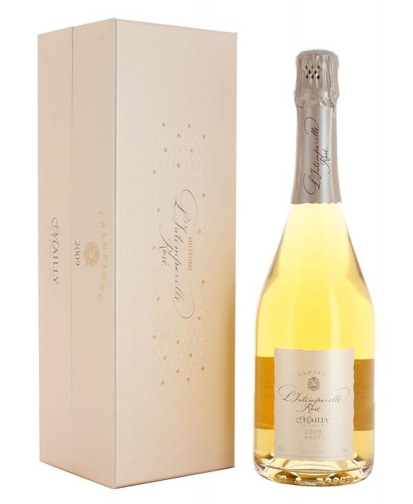 Champagne Mailly Grand Cru L'Intemporelle Grand Cru Rosé 2009 coffret