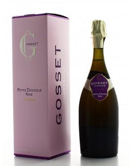 Champagne Gosset Petite Douceur Rosé gift box