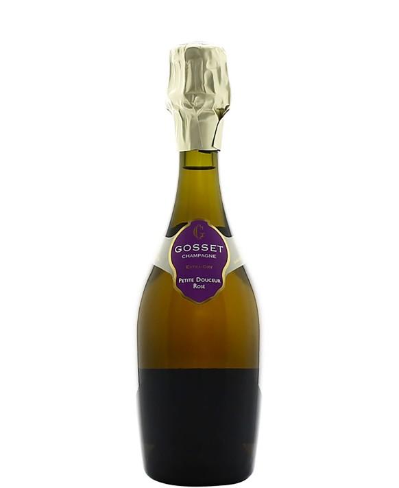 Champagne Gosset Petite Douceur Rosé half bottle
