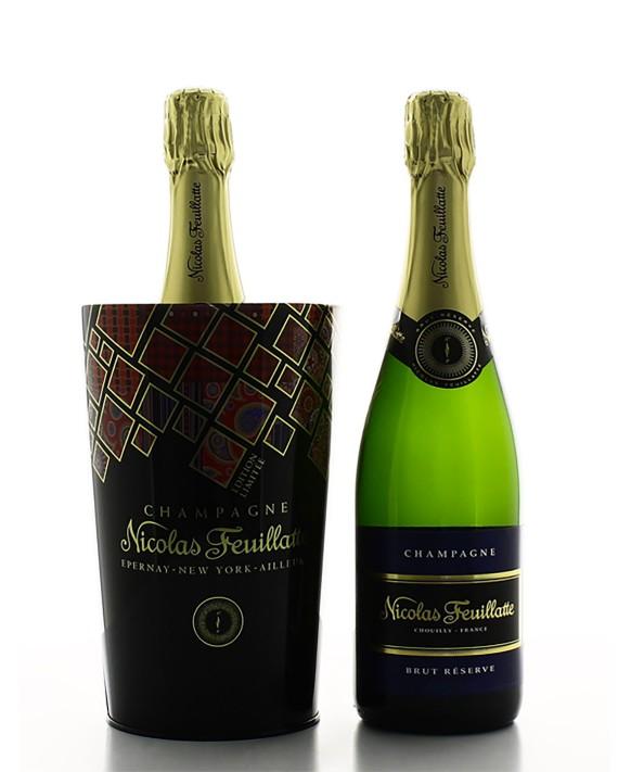 Champagne Nicolas Feuillatte Brut Réserve et seau bohème