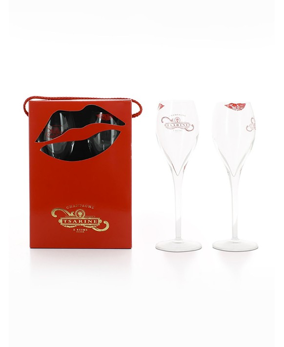 Champagne Tsarine Coffret 2 flûtes