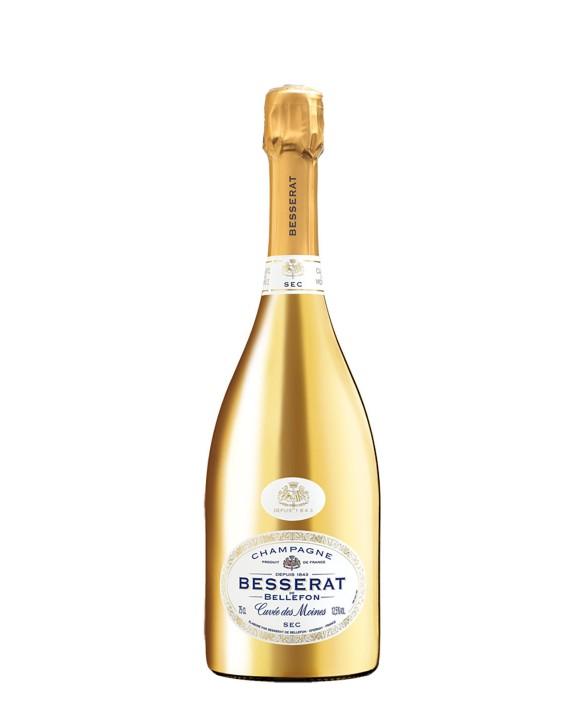 Champagne Besserat De Bellefon Cuvée des Moines Sec Gold 75cl