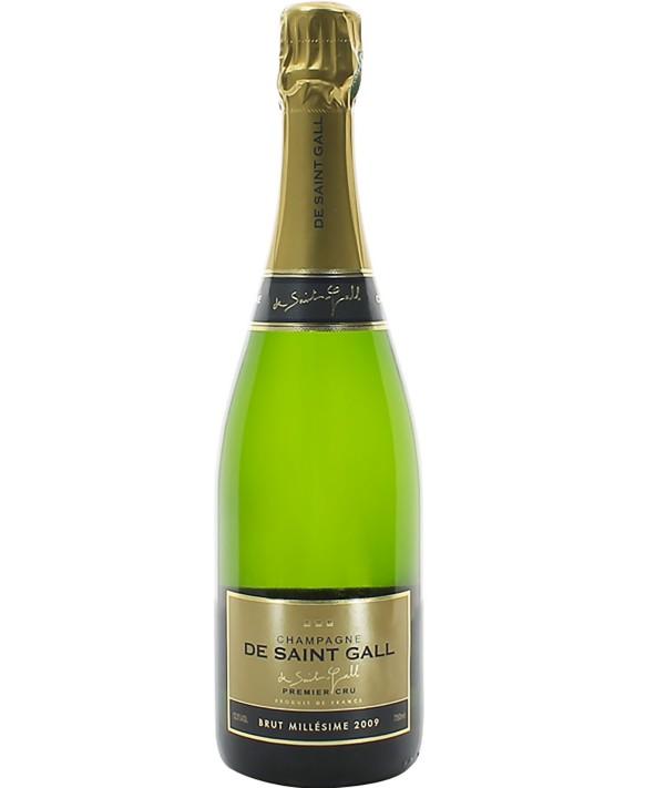 Champagne De Saint Gall Brut Blanc de Blancs 1er Cru 2009 75cl