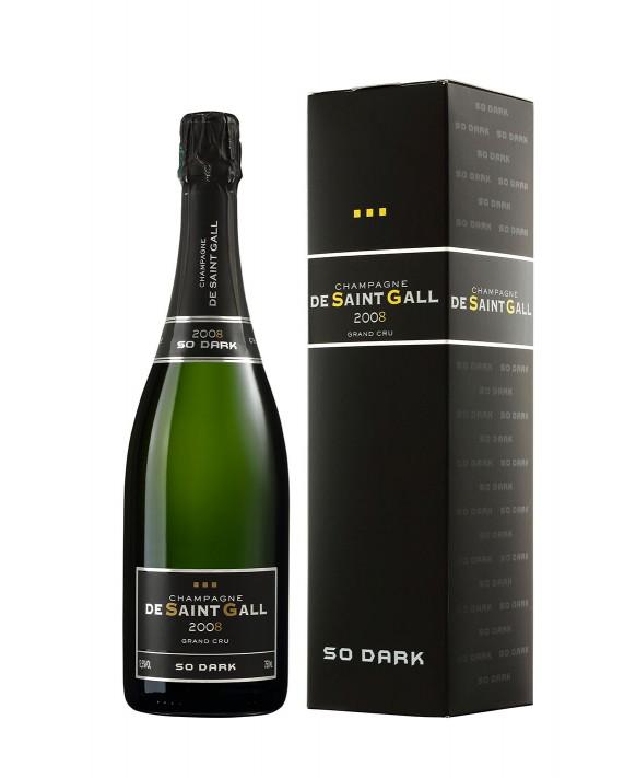 Champagne De Saint Gall So Dark Grand Cru 2008 75cl