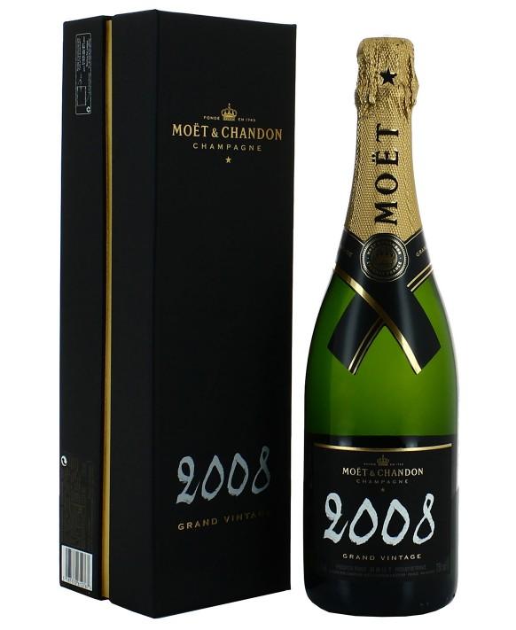 Champagne Moet Et Chandon Grand Vintage 2008 75cl