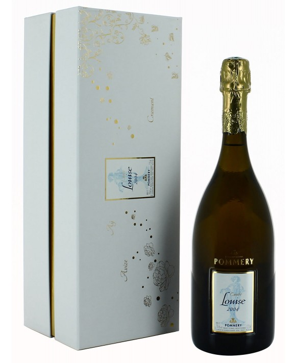 Champagne Pommery Cuvée Louise 2004 coffret luxe