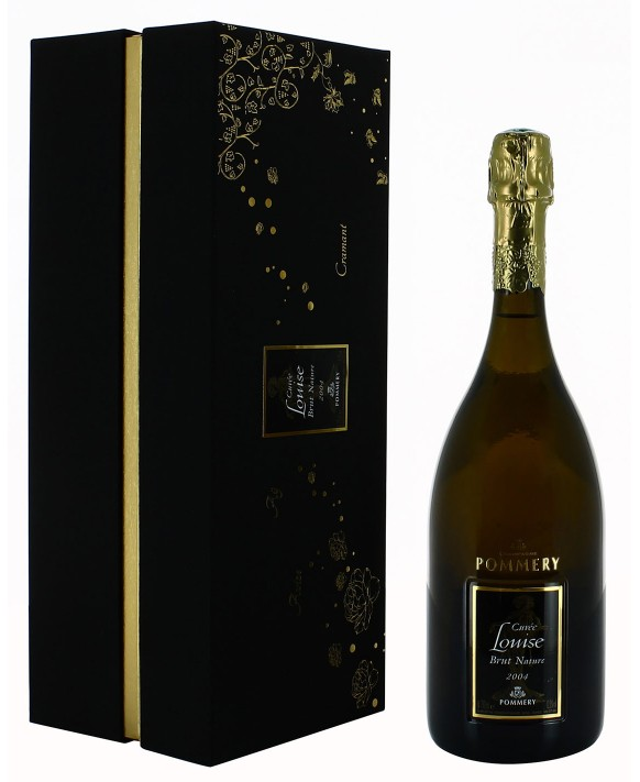 Champagne Pommery Cuvée Louise 2004 Nature coffret luxe