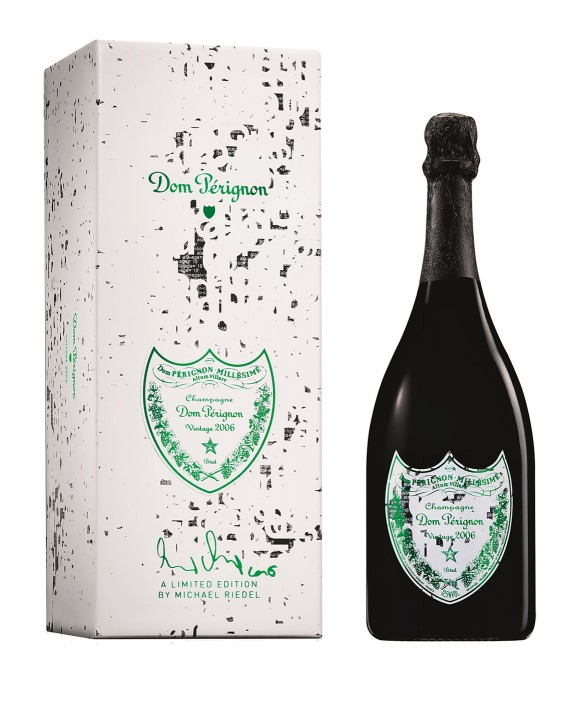 Champagne Dom Perignon Vintage 2006 coffret Michael Riedel 75cl