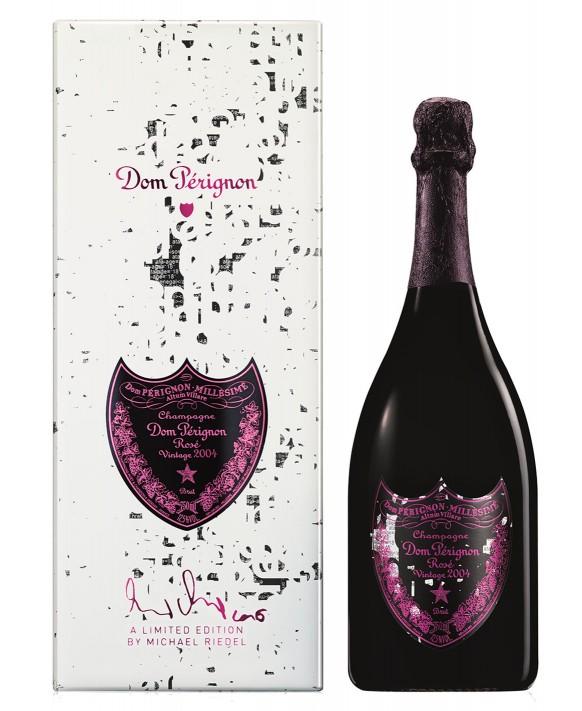 Champagne Dom Perignon Rosé Vintage 2004 coffret Michael Riedel 75cl