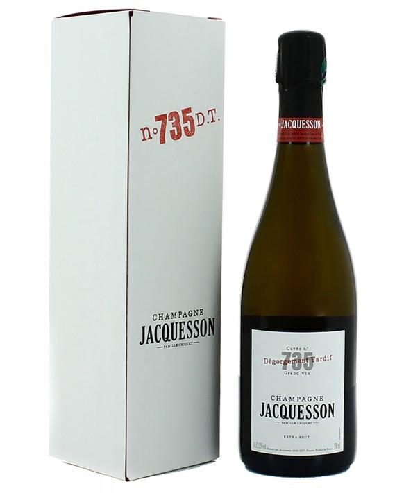 Champagne Jacquesson Cuvée 735 Dégorgement Tardif 75cl