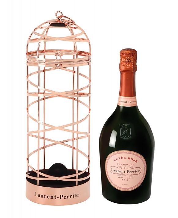 Champagne Laurent-perrier Cuvée Rosé ribbon cage 75cl