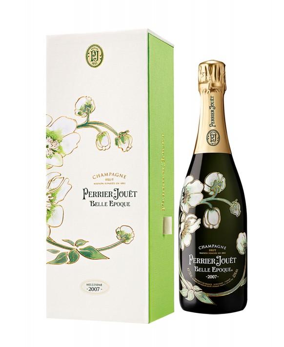 Champagne Perrier Jouet Belle Epoque 2007 casket 75cl