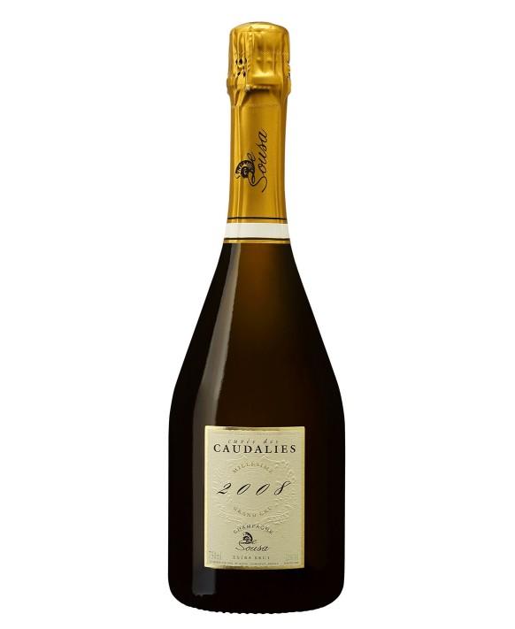 Champagne De Sousa Cuvée Caudalies Grand Cru 2008