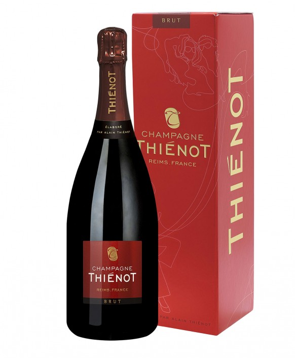 Champagne Thienot Brut Magnum gift box