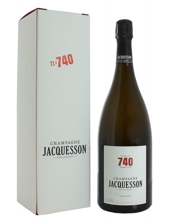 Champagne Jacquesson Cuvée 740 Magnum 150cl