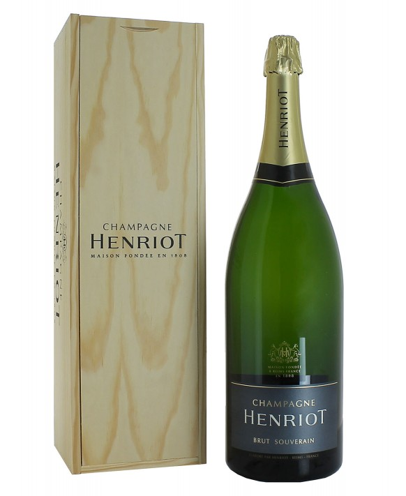 Champagne Henriot Brut Souverain Jéroboam