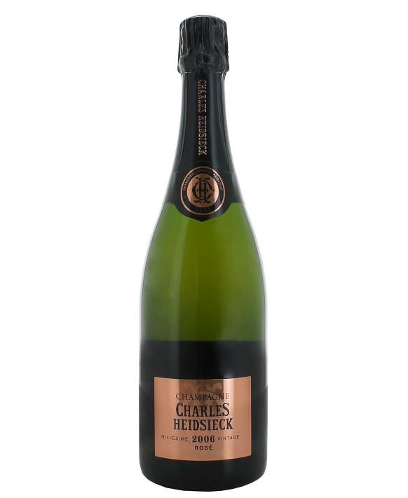 Champagne Charles Heidsieck Brut Rosé 2006 75cl