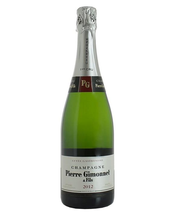 Champagne Pierre Gimonnet Brut Gastronome 2012 1er Cru 75cl