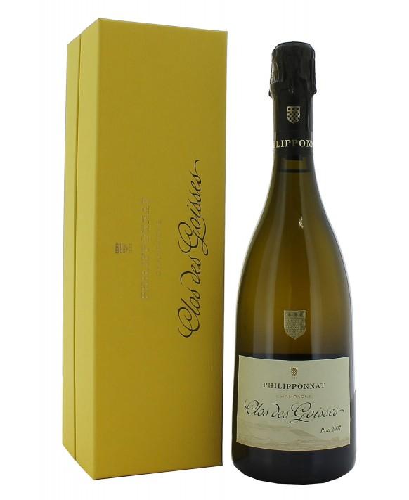 Champagne Philipponnat Clos des Goisses 2007 coffret