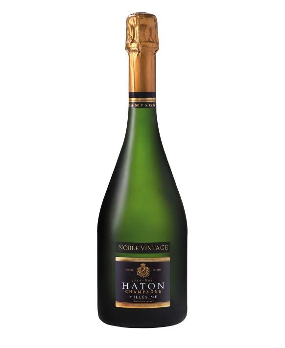 Champagne Jean-noel Haton Cuvée Noble Vintage Millésime 2009 75cl