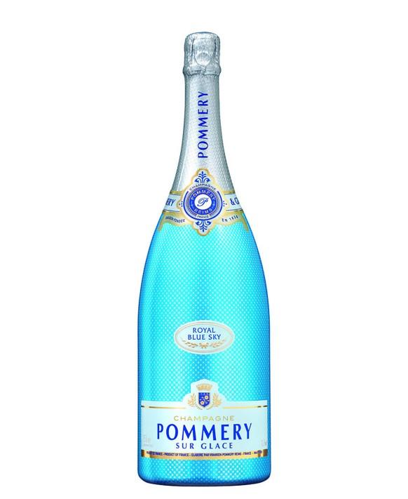 Champagne Pommery Royal Blue Sky Magnum