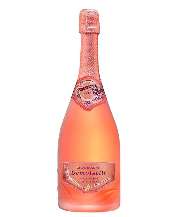 Champagne Demoiselle La Parisienne Rosé 2012 75cl