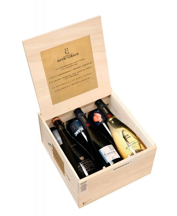 Champagne Henri Giraud Caisse 6 bouteilles Expérience n°1 75cl