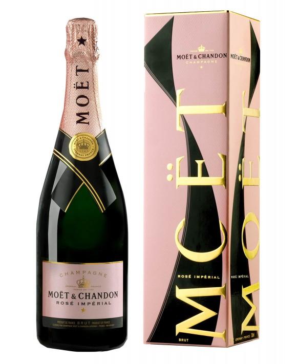 Champagne Moet Et Chandon Rosé Impérial étui Cravate 75cl