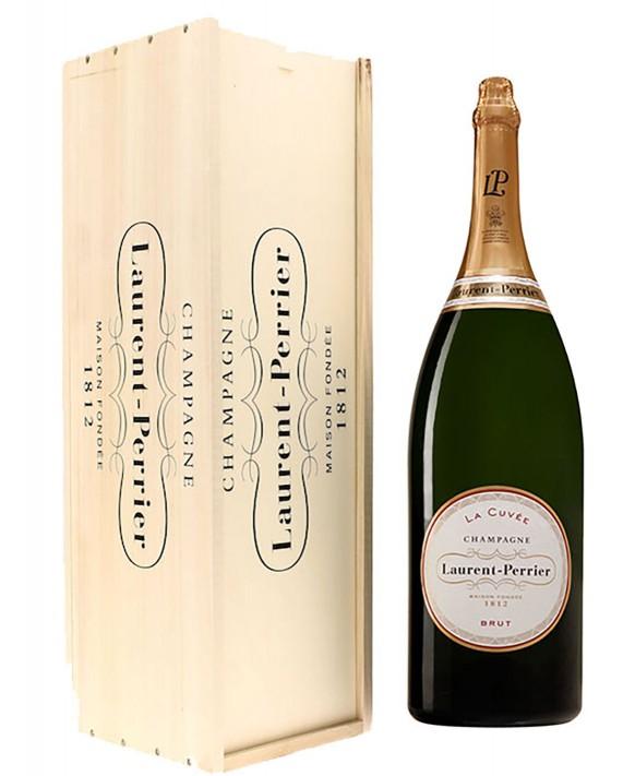 Champagne Laurent-perrier La Cuvée Brut Salmanazar