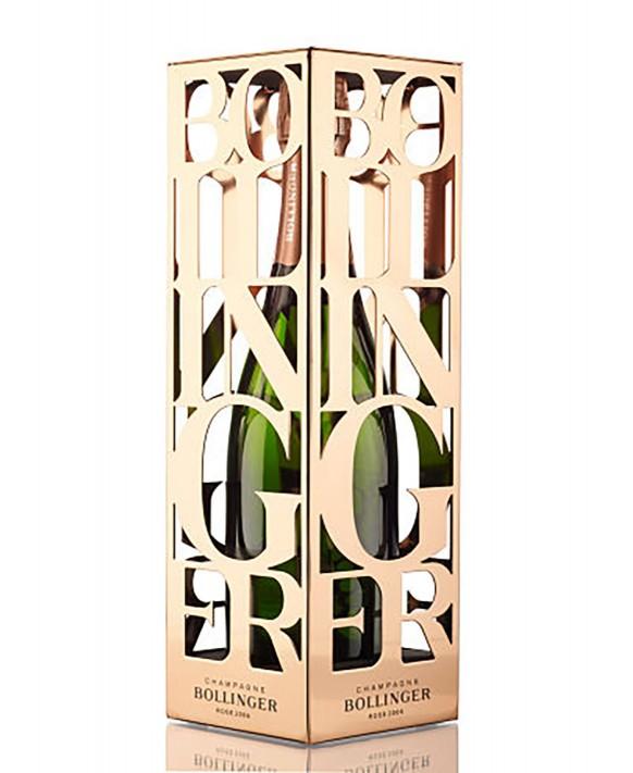 Champagne Bollinger Rosé 2006 metal box 75cl