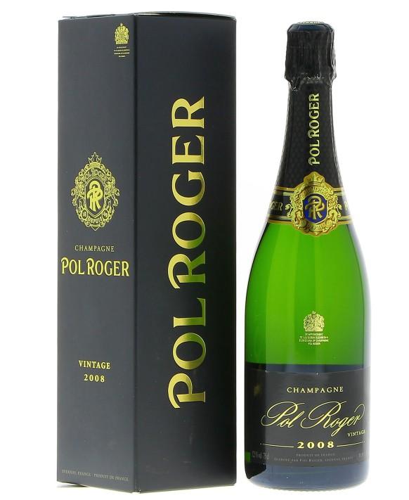 Champagne Pol Roger Brut 2008 75cl