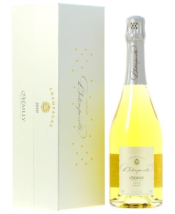 Champagne Mailly Grand Cru L'Intemporelle Grand Cru 2010 coffret