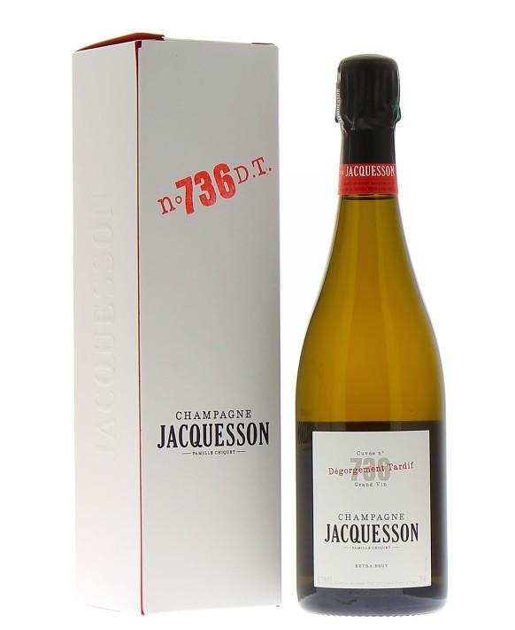 Champagne Jacquesson Cuvée 736 Dégorgement Tardif 75cl