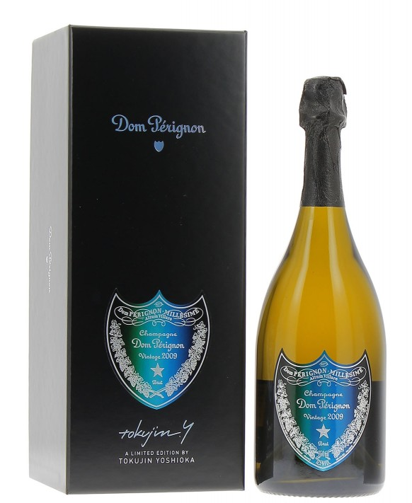Champagne Dom Perignon Vintage 2009 coffret Tokujin Yoshioka