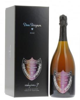 Champagne Dom Perignon Rosé Vintage 2005 coffret Tokujin Yoshioka