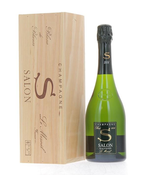 Champagne Salon S 2006 caisse bois 75cl